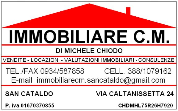 >IMMOBILIARE C.M. DI CHIODO MICHELE