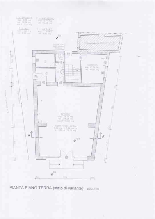 Negozio / Locale in affitto a Granze, 2 locali, prezzo € 600 | Cambio Casa.it