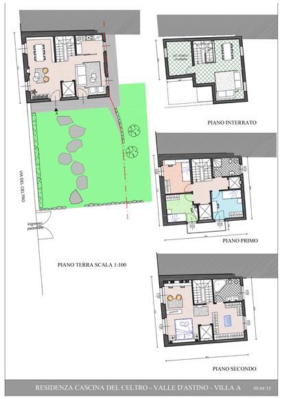 Vendita casa semi indipendente via del celtro 6 astino for Progettista del piano interrato