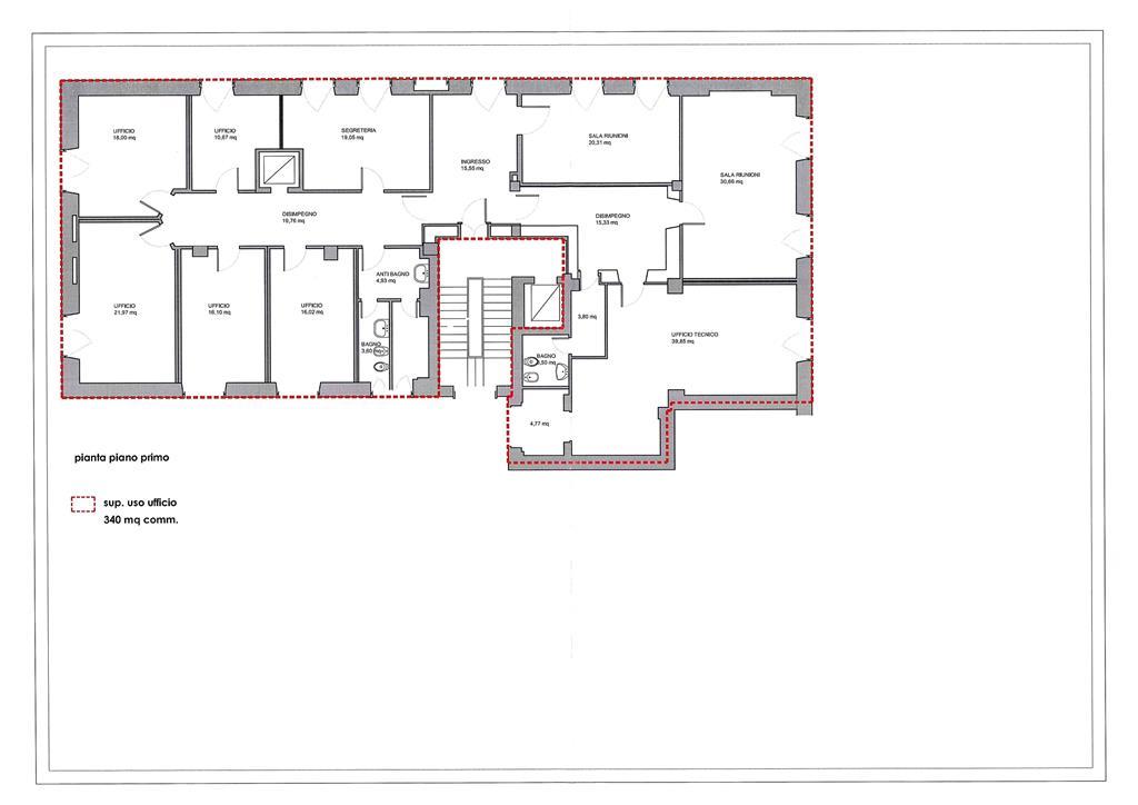 plan 1 P - Rif. A1659