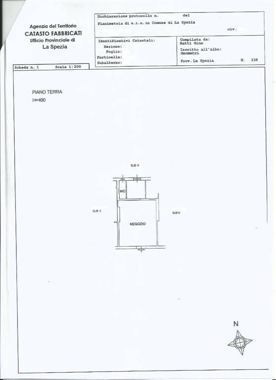 Immobile Commerciale in affitto a La Spezia, 2 locali, zona Zona: Bragarina, prezzo € 700 | CambioCasa.it