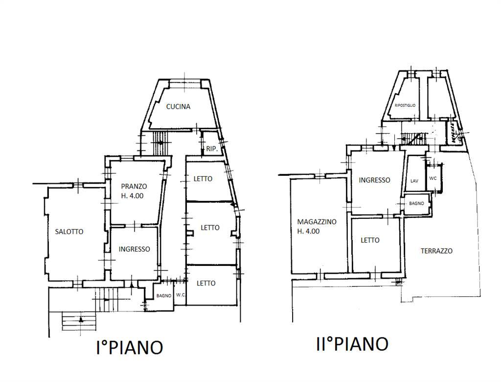 PLANIMETRIA: Palazzo in Centro Storico Via Mazzini, Martina Franca