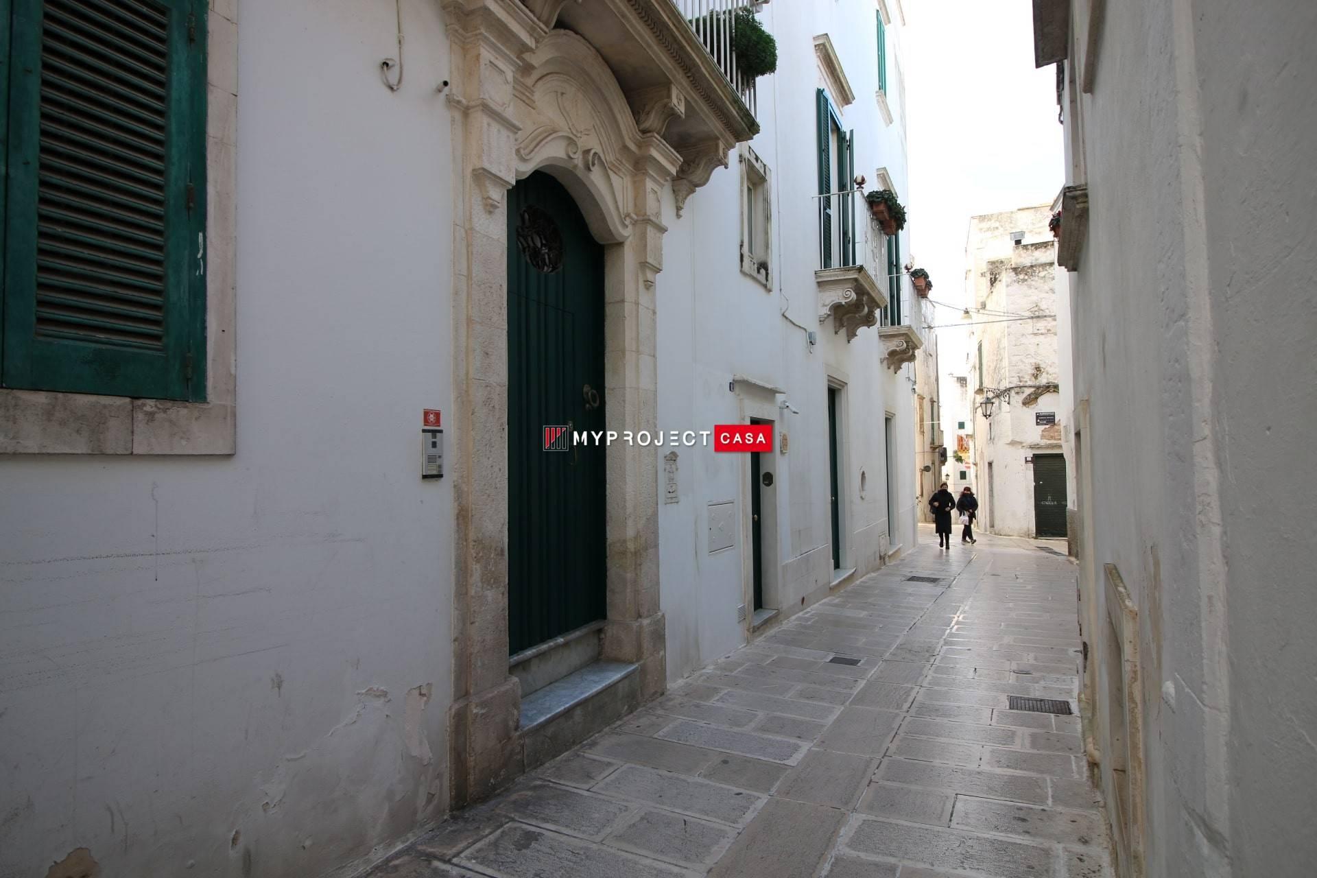 Prospetto ingresso principale