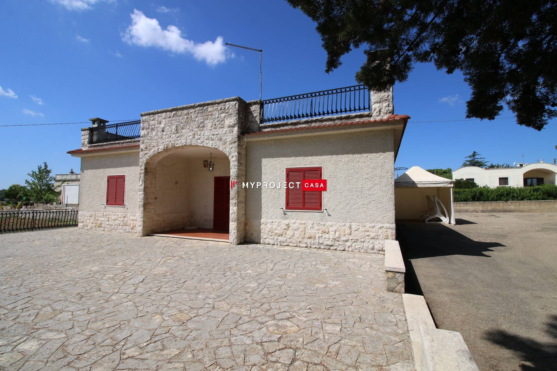 Prospetto villa