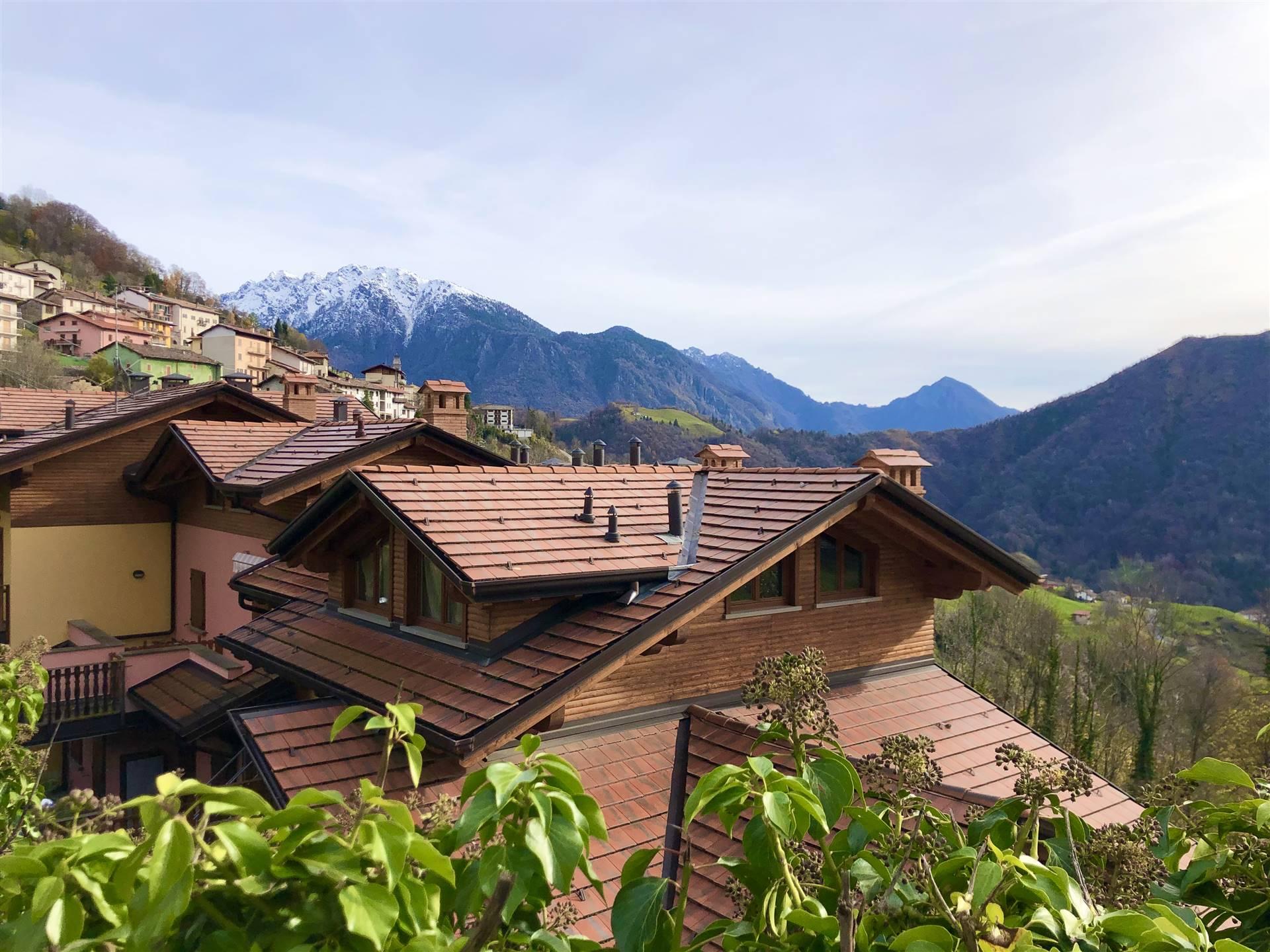 Appartamento in Vendita a Dossena: 3 locali, 95 mq
