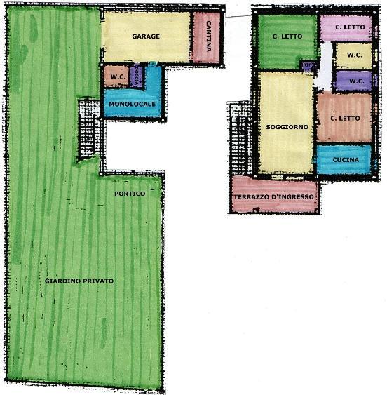 Villa in vendita a Comacchio, 4 locali, zona Zona: Lido di Spina, Trattative riservate | Cambio Casa.it