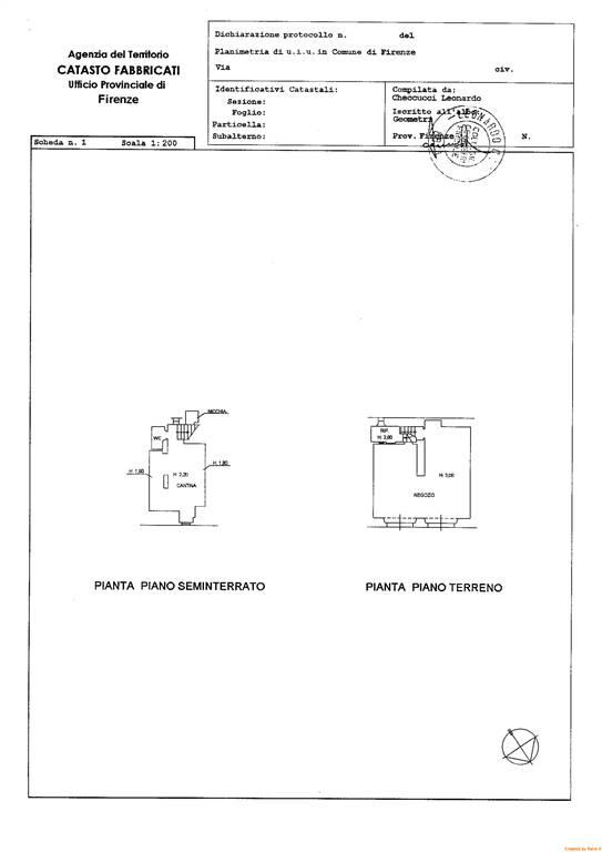 Laboratorio in vendita a Firenze, 9999 locali, zona Località: DUOMO, prezzo € 195.000   CambioCasa.it