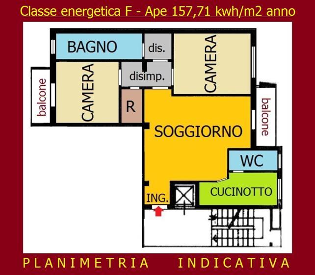 Trilocale in Carlo Troya 4, P.ta Genova, Romolo, Solari, Milano