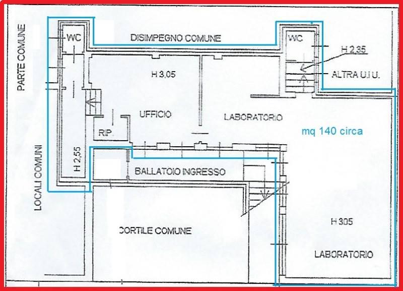 Laboratorio in Vendita a Milano 20 Bicocca / Crescenzago / Cimiano: 110 mq  - Foto 1