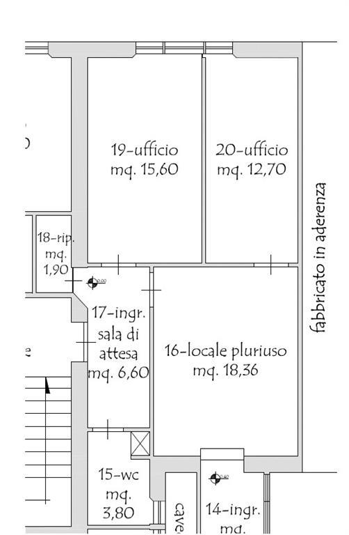 ufficio  in Affitto a Cecina
