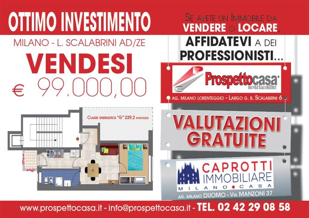 Bilocale in Curio Dentato 8, Barona, Giambellino, Lorenteggio, Milano