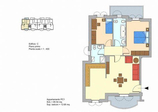 Appartamento in Vendita a Offagna