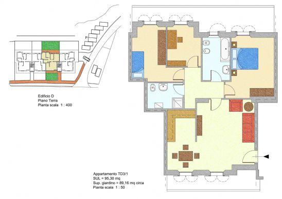 Appartamento in vendita a Offagna, 5 locali, prezzo € 215.000 | Cambio Casa.it