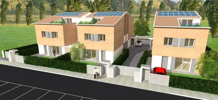 Villa Bifamiliare in vendita a San Giorgio di Piano, 6 locali, prezzo € 360.000 | Cambio Casa.it