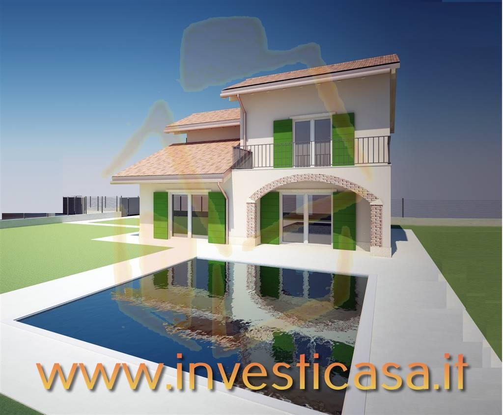 Villa in vendita a Cavaion Veronese, 5 locali, prezzo € 439.000 | Cambio Casa.it