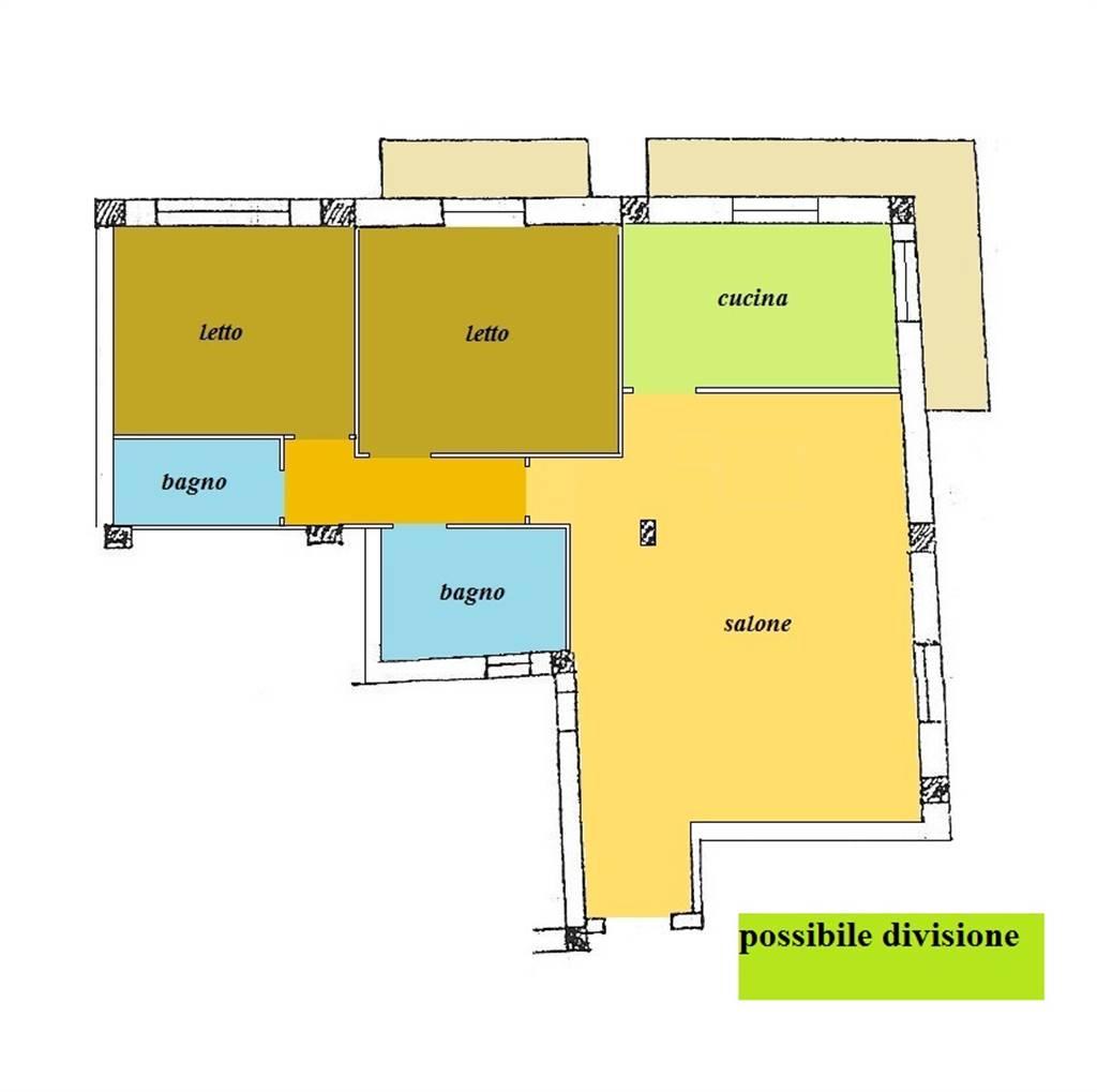 Appartamento in vendita a Cosenza, 3 locali, zona Zona: Mazzini, prezzo € 108.000 | CambioCasa.it