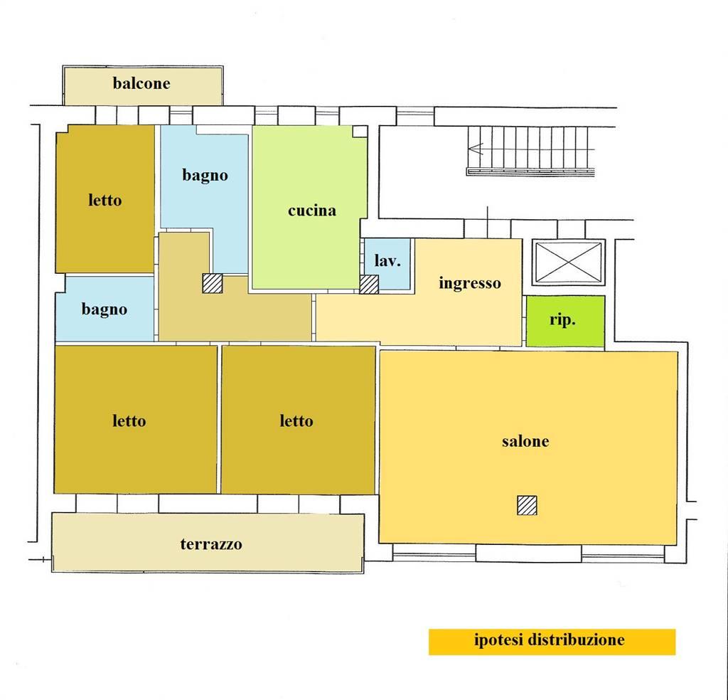 Appartamento in vendita a Cosenza, 5 locali, zona Zona: Mazzini, prezzo € 270.000 | CambioCasa.it