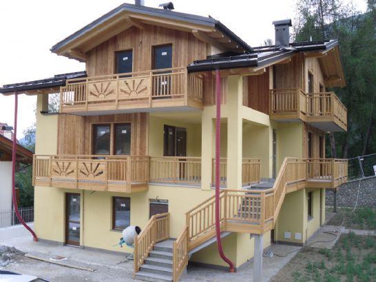 Casa dimaro appartamenti e case in vendita a dimaro for Appartamenti trento
