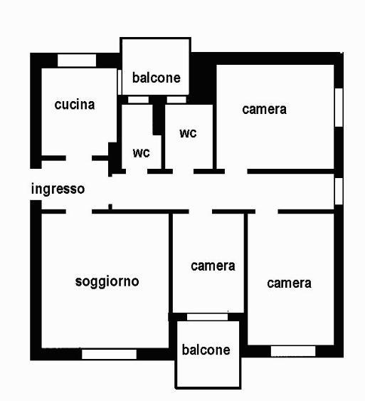 Appartamento vendita GORGONZOLA (MI) - 4 LOCALI - 130 MQ
