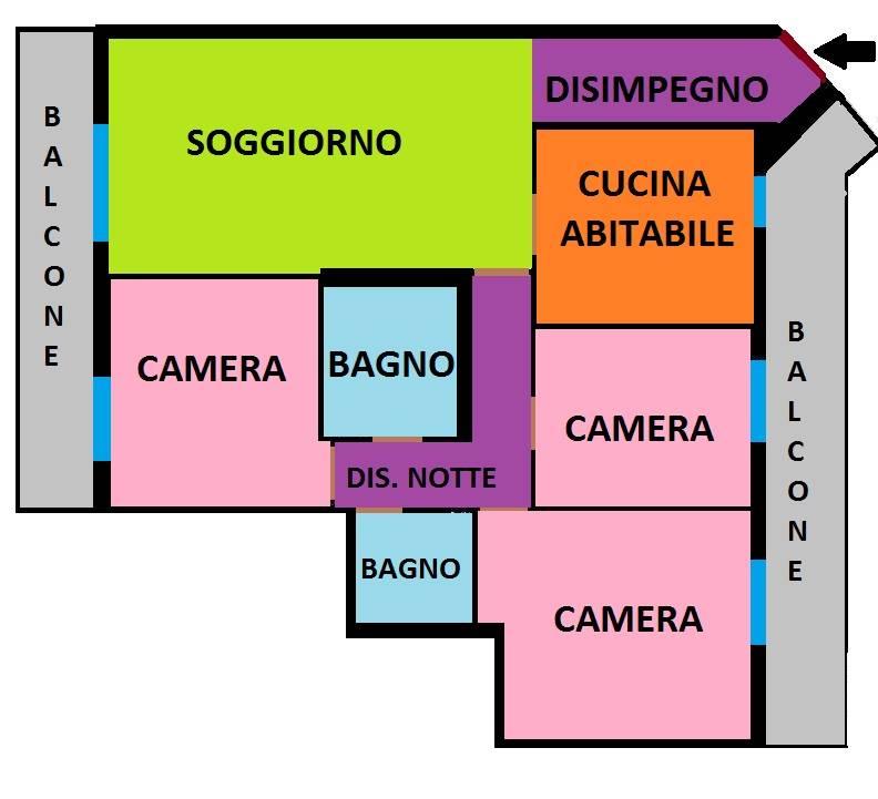 Appartamento in Vendita a Gorgonzola