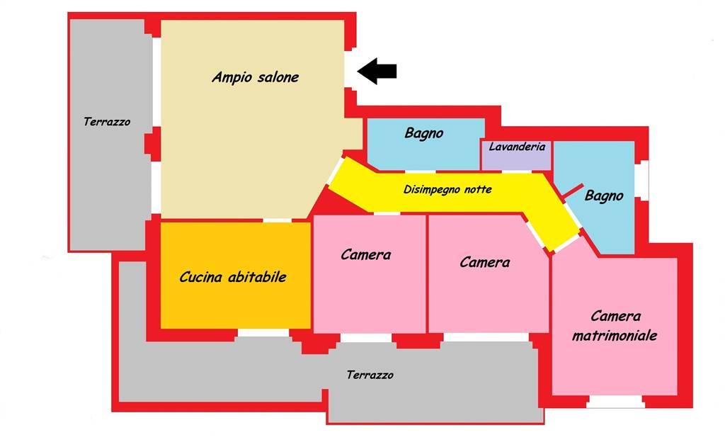 Attico / Mansarda in vendita a Brugherio, 4 locali, prezzo € 373.000 | Cambio Casa.it
