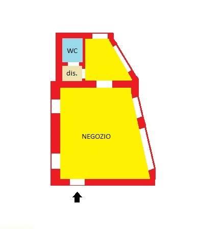 Negozio / Locale in affitto a Gorgonzola, 2 locali, prezzo € 600 | CambioCasa.it