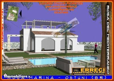 Villa vendita OSTUNI (BR) - 4 LOCALI - 100 MQ