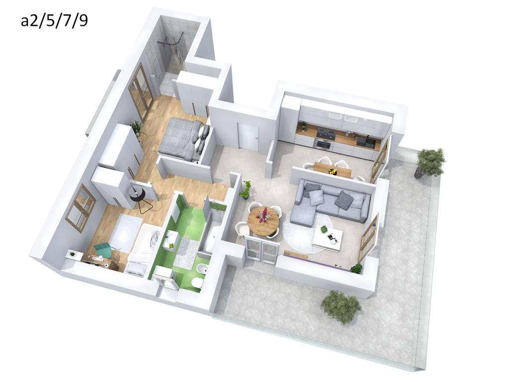 Appartamento in vendita a Melzo, 3 locali, prezzo € 316.000 | Cambio Casa.it