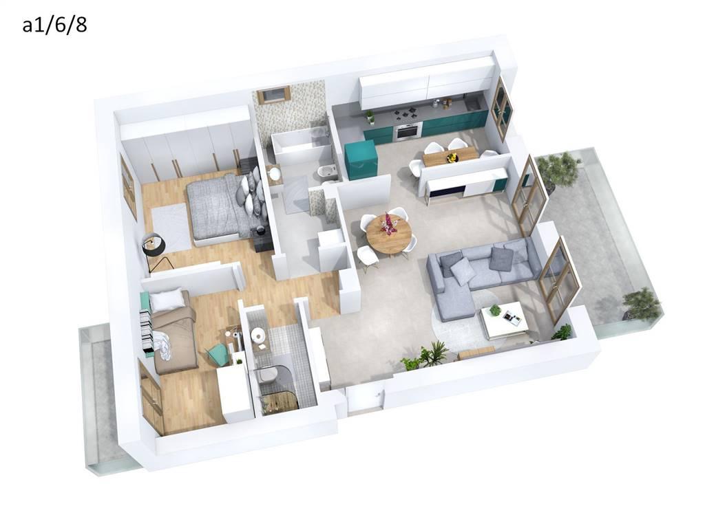 Appartamento in vendita a Melzo, 3 locali, zona Località: ARCADIA, prezzo € 334.000 | Cambio Casa.it