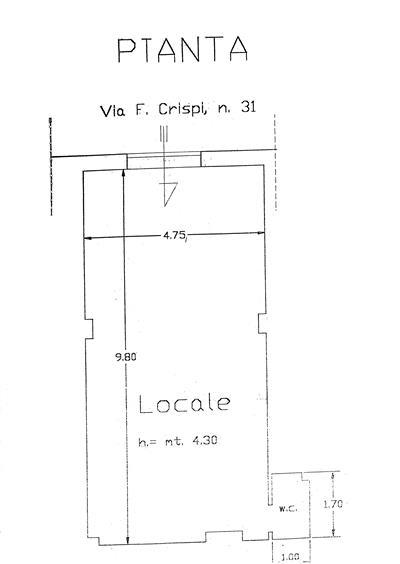 Negozio / Locale in vendita a Salerno, 1 locali, zona Zona: Carmine, prezzo € 85.000 | Cambio Casa.it