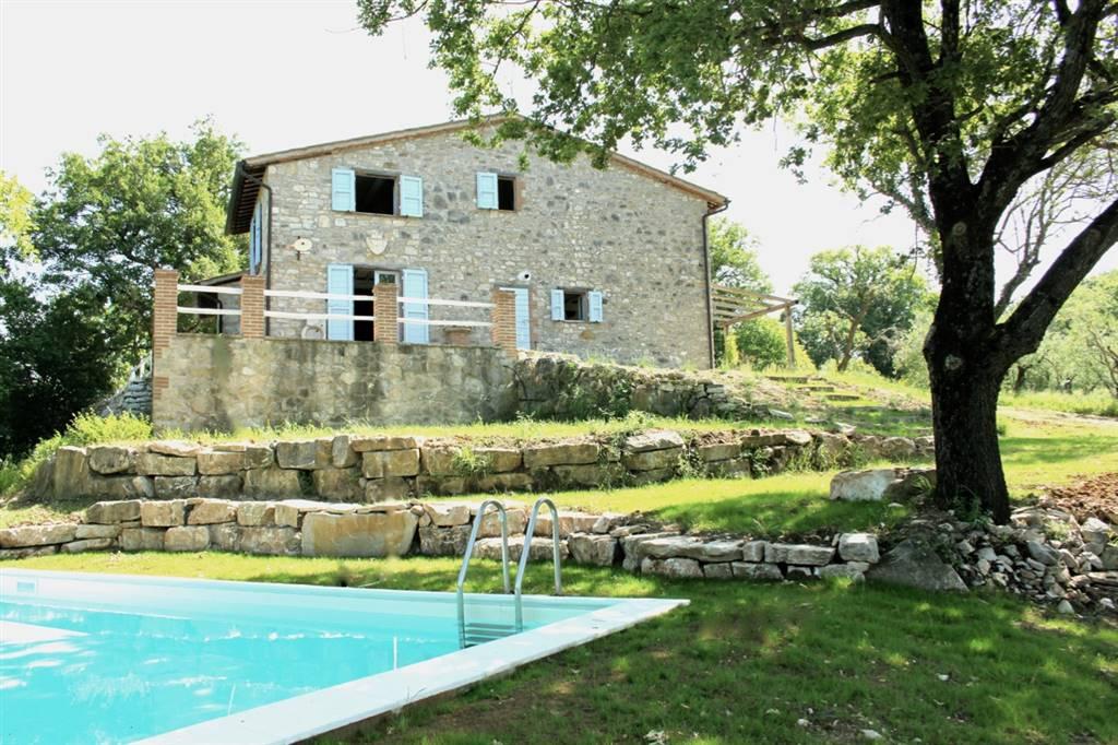 Rustico / Casale in vendita a Monte Castello di Vibio, 7 locali, prezzo € 395.000 | Cambio Casa.it