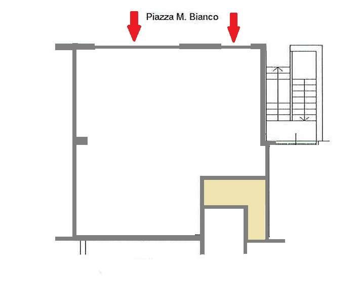 Ufficio / Studio in affitto a Matera, 1 locali, zona Zona: Semicentro Nord, prezzo € 1.000 | Cambio Casa.it