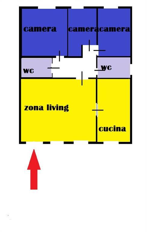 Appartamento in affitto a Matera, 4 locali, zona Zona: Periferia Nord, prezzo € 650 | Cambio Casa.it