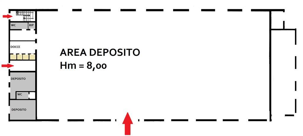 Capannone in vendita a Montalbano Jonico, 2 locali, prezzo € 60.000 | Cambio Casa.it