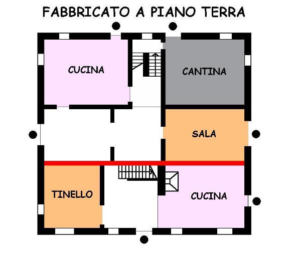 Soluzione Indipendente in vendita a Sala Bolognese, 16 locali, prezzo € 300.000 | Cambio Casa.it