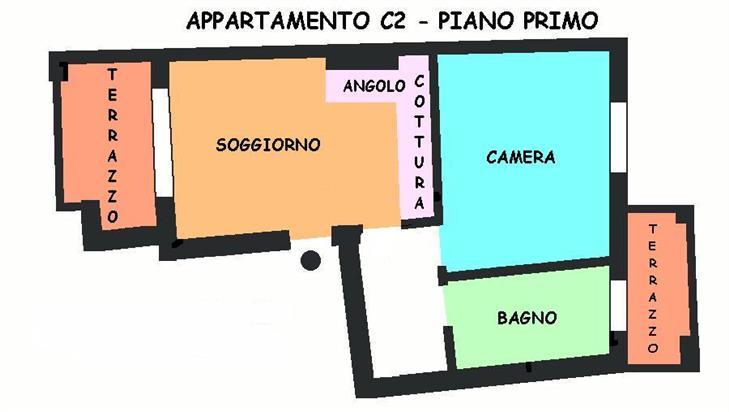Appartamento in vendita a Calderara di Reno, 2 locali, prezzo € 130.000 | Cambio Casa.it