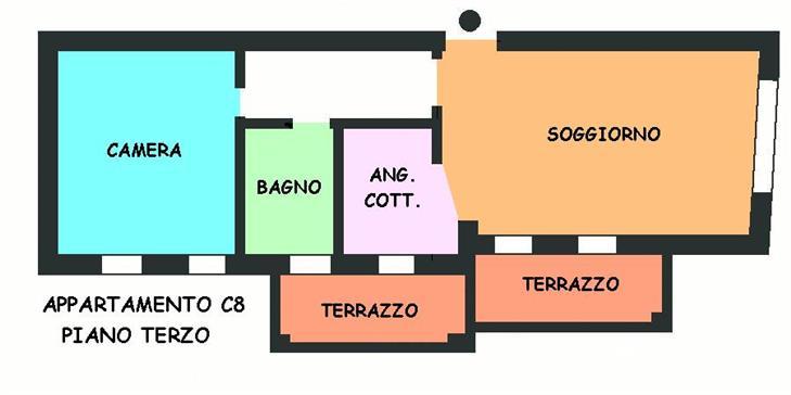 Appartamento in vendita a Calderara di Reno, 2 locali, prezzo € 140.000 | Cambio Casa.it