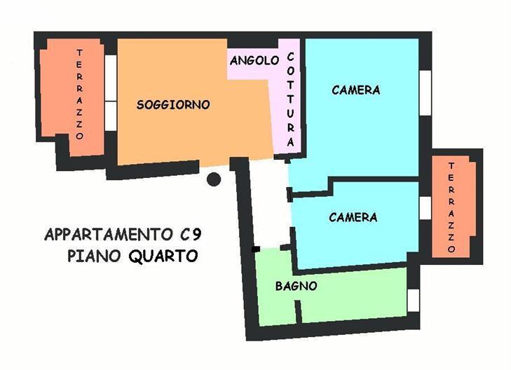 Appartamento in vendita a Calderara di Reno, 3 locali, prezzo € 190.000 | Cambio Casa.it