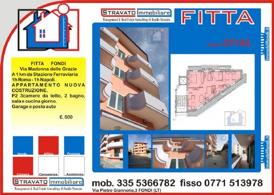 Affitto Appartamento FONDI - MADONNA DELLE GRAZIE