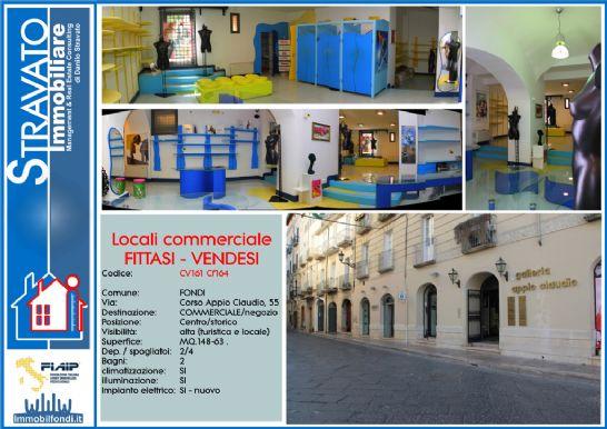 Vendita Locale commerciale FONDI - CENTRO STORICO