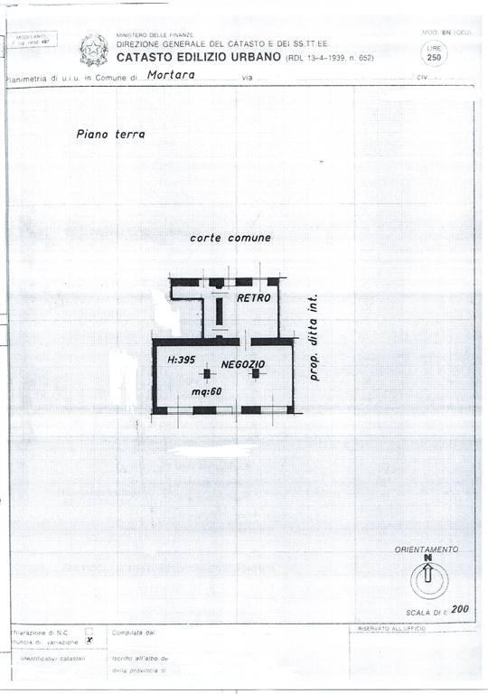 Negozio / Locale in affitto a Mortara, 2 locali, prezzo € 700 | Cambio Casa.it