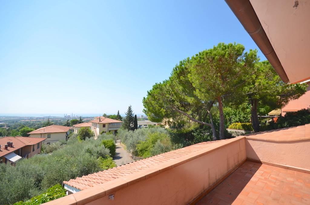 Relaxing sea view 260 sqm villa 5 km from Castiglioncello (Rosignano Marittimo)