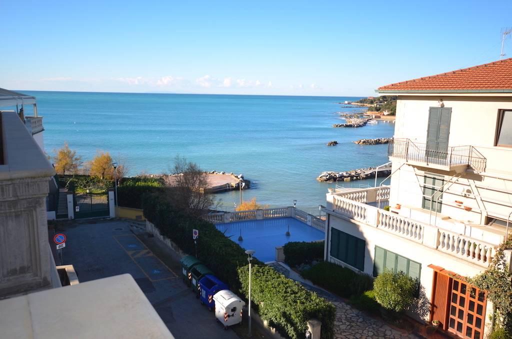 Castiglioncello, unique, classic style, newly built, sea front apartment