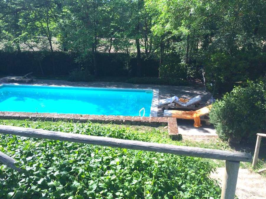 CASINO DI TERRA, Tuscany, elegant country house with swimming pool and garden