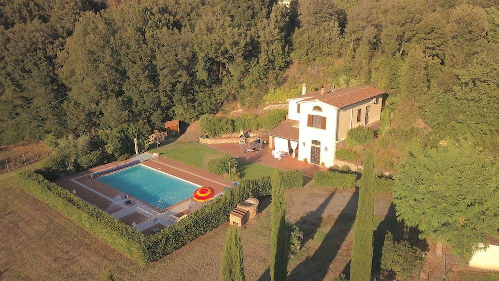 Riparbella, Tuscany, country house with garden and pool