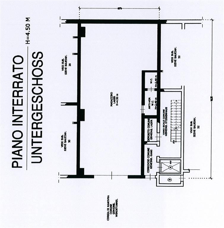 capannone  in Vendita a Bolzano
