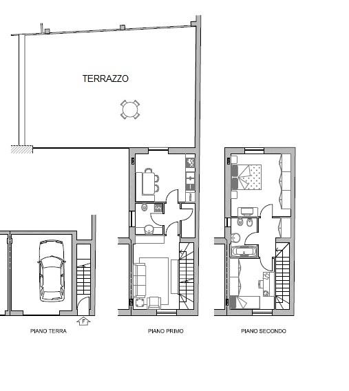 Casa semi indipendente, Farnesiana, Piacenza, in nuova costruzione