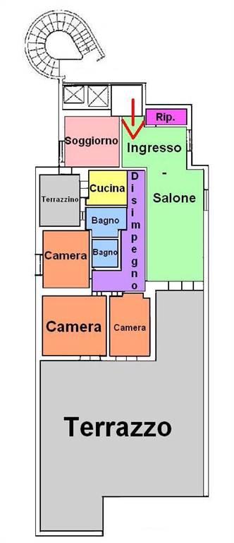 Attico / Mansarda in vendita a Taranto, 4 locali, zona Zona: Q.re Paolo VI, prezzo € 135.000 | CambioCasa.it