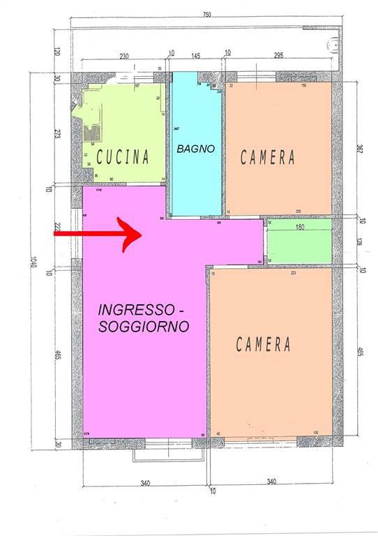Appartamento in affitto a Taranto, 4 locali, zona Zona: Borgo, prezzo € 500 | Cambio Casa.it