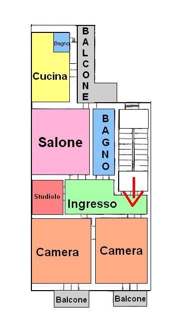 Appartamento in affitto a Taranto, 4 locali, zona Zona: Borgo, prezzo € 650 | CambioCasa.it